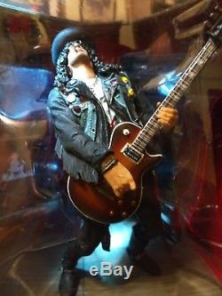 MIB SLASH Deluxe Boxed Set McFarlane Rock Figure 2005 Guns N' Roses GNR