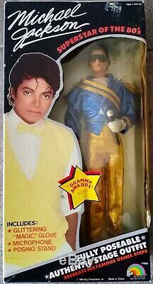 MICHAEL JACKSON 1984 LJN Superstar of the 80s Vintage Rare 12 Dolls Lot
