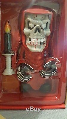 MISFITS Medicom ZOMBIE Version bloody Fiend Vinyl Figure Crimson Ghost Danzig
