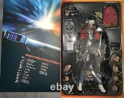 MMS257 Hot Toys 1/6 Back to the Future Marty McFly with custom decals