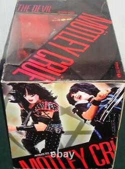 MOTLEY CRUE SHOUT AT THE DEVIL DELUXE BOXED EDITION FIGURE SET McFARLANE TOYS