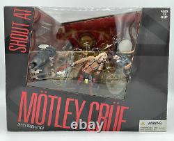 MOTLEY CRUE SHOUT AT THE DEVIL McFARLANE BOXED BOX SET SEALED ACTION FIGURES NIB