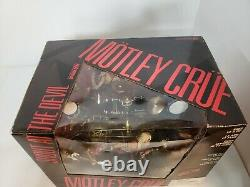 MOTLEY CRUE SHOUT AT THE DEVIL TODD McFARLANE BOXED BOX SET SEALED UNOPENED