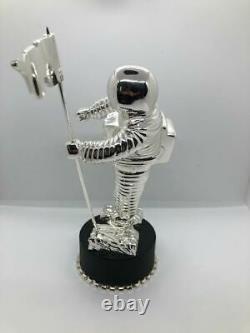 MTV VMA MoonMan moon man Video Music Award Silver Statue Trophy METAL 10 in