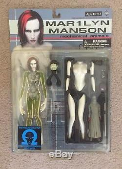 Marilyn Manson Mechanical Animals Action Figure New Fewture