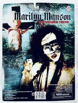 Marilyn Manson Real figure Disposable Teens From JAPAN