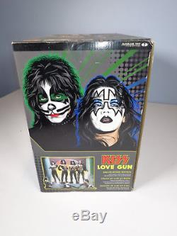McFarlane KISS Love Gun Deluxe Boxed Edition Super Stage Figures 2004 New in Box