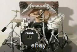 McFarlane METALLICA BAND SET & 3D ALBUM COVER Read Desc