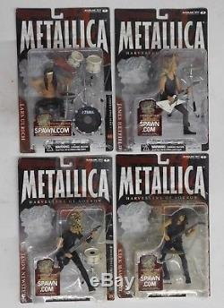 McFarlane METALLICA HARVESTERS OF SORROW (4) ACTION FIGURE SET NEW / SEALED