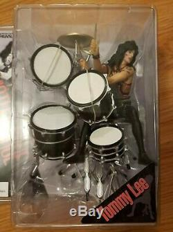 McFarlane MOTLEY CRUE Band Action Figure SET OF 4 FREE SHIPPING UNTIL 3/28/19