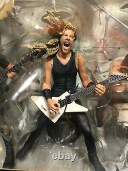 McFarlane Metallica Harvesters of Sorrow Action Figure Set All Four Members NIB