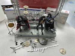 McFarlane Metallica Kiss Rock Band Stage Lights-Stage, And Figures Rare and HTF