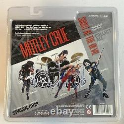McFarlane Motley Crue 4 Piece Set. Shout At The Devil 2005 Unopened New In Box
