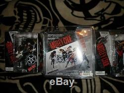 McFarlane Motley Crue Band Action Figure Set of 4, All Mint in Package, Awesome