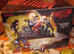 McFarlane Motley Crue Deluxe Figure Box Set New Sealed