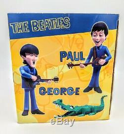 McFarlane Saturday Cartoon Beatles 4 Figure Deluxe Box Set New In Box 2004 Spawn