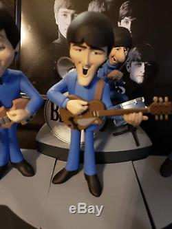 McFarlane The Beatles Saturday Morning 1965 Cartoon Animated Figure Set LOT 2004