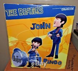 McFarlane The Beatles Saturday Morning Cartoon Deluxe Box Set Action Figures New