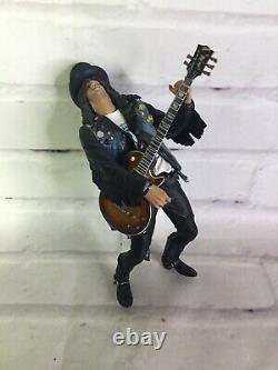 McFarlane Toys Guns N' Roses Deluxe Slash Action Figure Loose 2005 Flawed