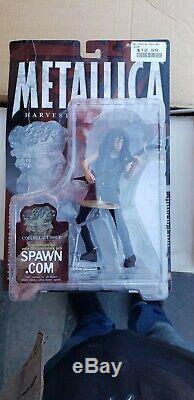 McFarlane Toys Metallica Harvester Of Sorrow 4 Figures Set 2001 NEW