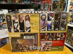 McFarlane Toys Metallica Harvesters Of Sorrow box set James Lars Kirk Jason