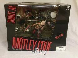 McFarlane Toys Motley Crue Shout at the Devil Deluxe Box Set Sealed Rare