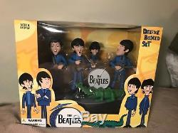 Mcfarlane Beatles Deluxe Box Set NIB