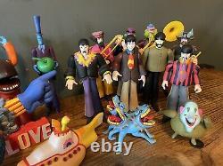 Mcfarlane Beatles Yellow Submarine Figures Set