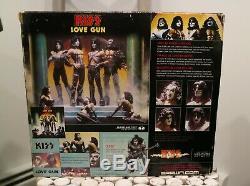 Mcfarlane Kiss Love Gun Deluxe Figure Box Set SEALED