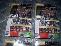 Mcfarlane Metallica Harvesters Of Sorrow Set Of 4 Unopened Figures Lot