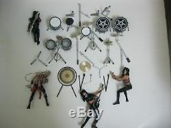 Mcfarlane Motley Crue 4 Figure Set Tommy Lee Nikki Sixx Mick Mars Vince Neil