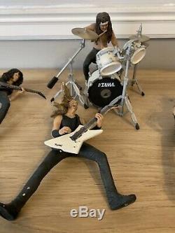 Mcfarlane toys metallica Lot Lars James Hetfield Spawn Harvesters Of Sorrow