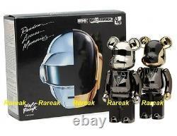 Medicom Be@rbrick 2015 Daft Punk 200% Chogokin Superalloy RAM Bearbrick set 2pcs