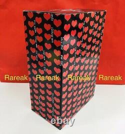Medicom Be@rbrick 2020 Amplifier Memorial Black Heart 400% & 100% Bearbrick Set