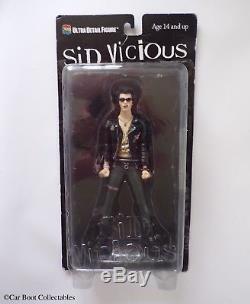 Medicom Sex Pistols Sid Vicious (Variant) Action Figure Punk Music Memorabilia