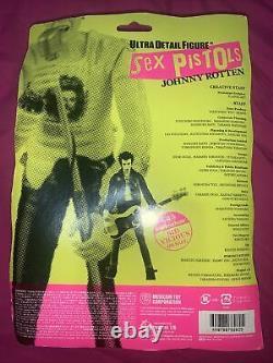 Medicom Toy Sex Pistols Ultra Detail Figures! Johhny Rotten & Sid Vicious PAIR