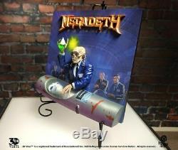 Megadeth Rust in Peace 3D Vinyl Statue-KNU3DVMDRUST100-KNUCKLEBONZ
