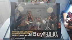 Metallica Figures Harvesters of Sorrow McFarlane Toys BRAND NEW IN BOX