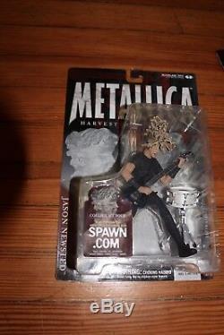 Metallica Harvester Of Sorrow McFarlane Action Figures. 3 unopened