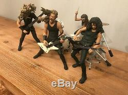 Metallica Harvester of Sorrow McFarlane Toys Action Figures With Instruments