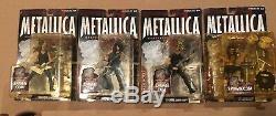 Metallica Harvesters Of Sorrow Figures McFarlane Toys Set Of 4