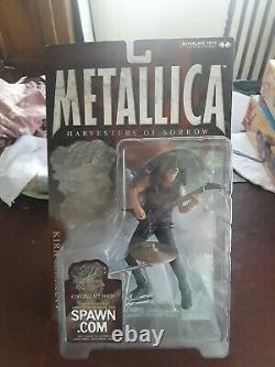 Metallica Harvesters Of Sorrow McFarlane Toys 4 Action Figures Sealed In Box