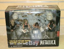 Metallica Harvesters Of Sorrow Stage Box Figures McFarlane Toys NEW FREE SHIP