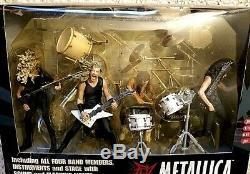Metallica Harvesters Of Sorrow Stage Boxed Mcfarlane Toys Sound/lighting Works
