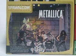 Metallica Harvesters of Sorrow 2001 McFarlane Action Figure Boxed Set NEW SEALED