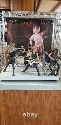 Metallica Harvesters of Sorrow 4-Figure Super Stage Set 2001 McFarlane Toys READ