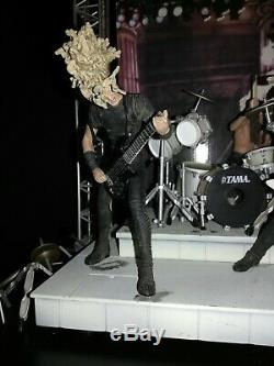 Metallica Harvesters of Sorrow Boxed Figure Stage Set McFarlane NIB New In Box