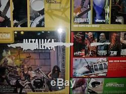 Metallica Harvesters of Sorrow McFarlane rare set sealed