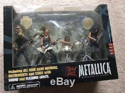 Metallica Harvesters of Sorrow Stage Figure Set McFarlane Toys NEWithUNOPENED