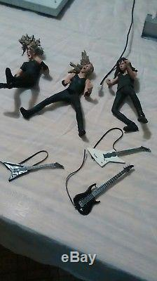 Metallica Harvesters of Sorrow Stage Set. McFarlane Loose Figures